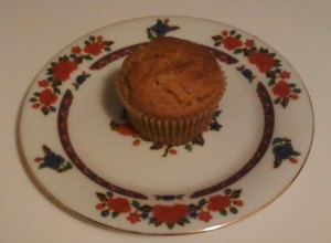A perfect pumpkin muffin